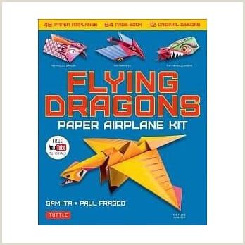 åšå ¢ä¾† Flying Dragons Paper Airplane Kit 48 Paper Airplanes