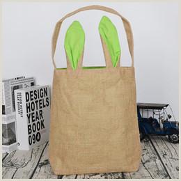 Paper Bag Bunny Puppet Plain Handbags Bunny Ears Line Shopping