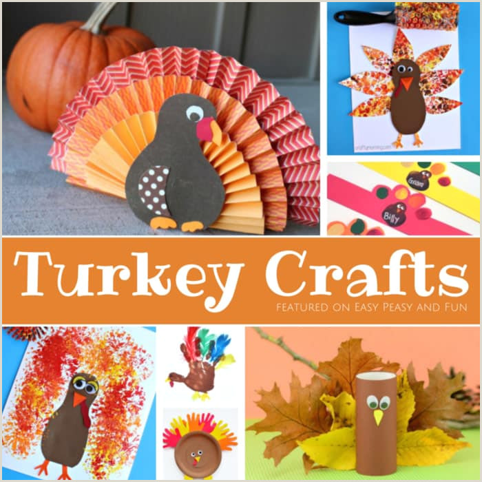 Turkey Crafts for Kids Wonderful Art and Craft Ideas for