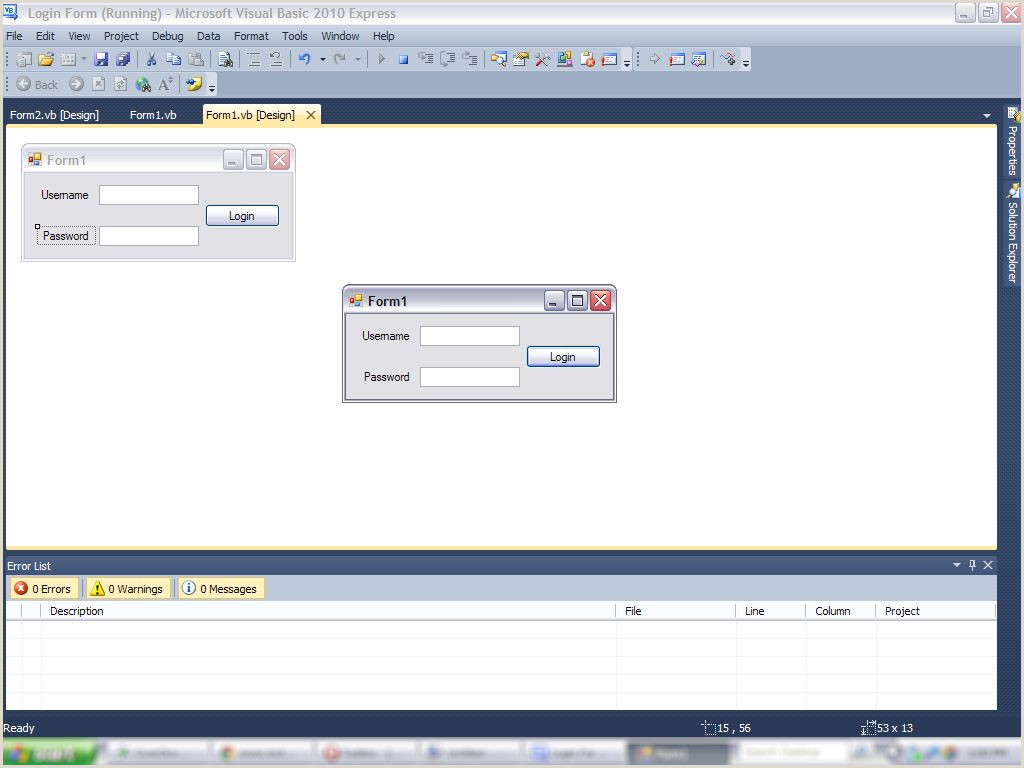 How to Make a Login Form in Visual Basics 2010 4 Steps