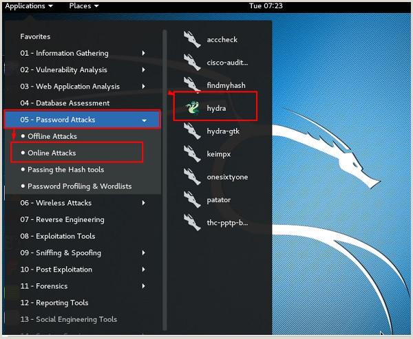 Kali Linux Password Cracking Tools Tutorialspoint