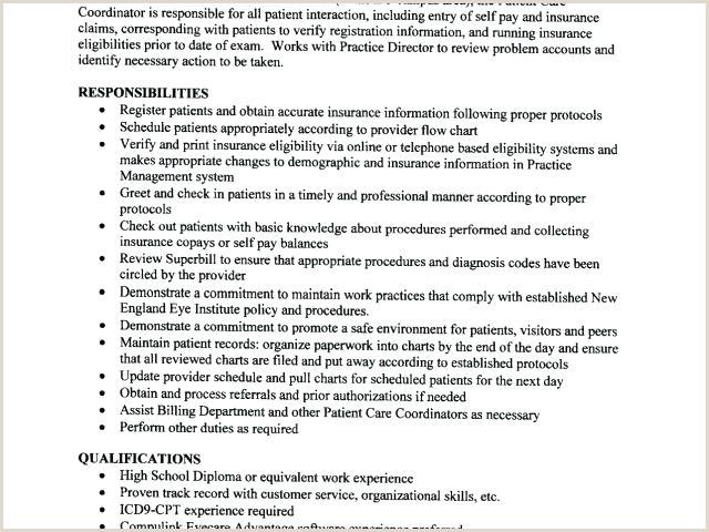 patient care coordinator resume – blogue