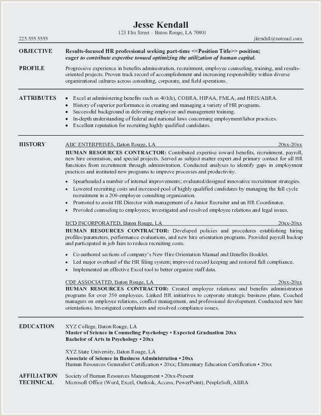 Payroll Resume Example Inspirational Resume Coordinator