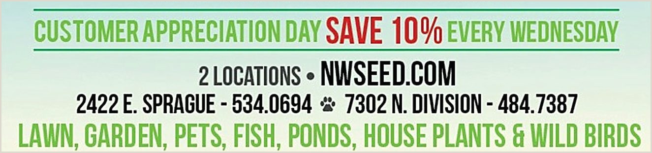 Northwest Seed & Pet Spokanes best Lawn Garden and Pet store