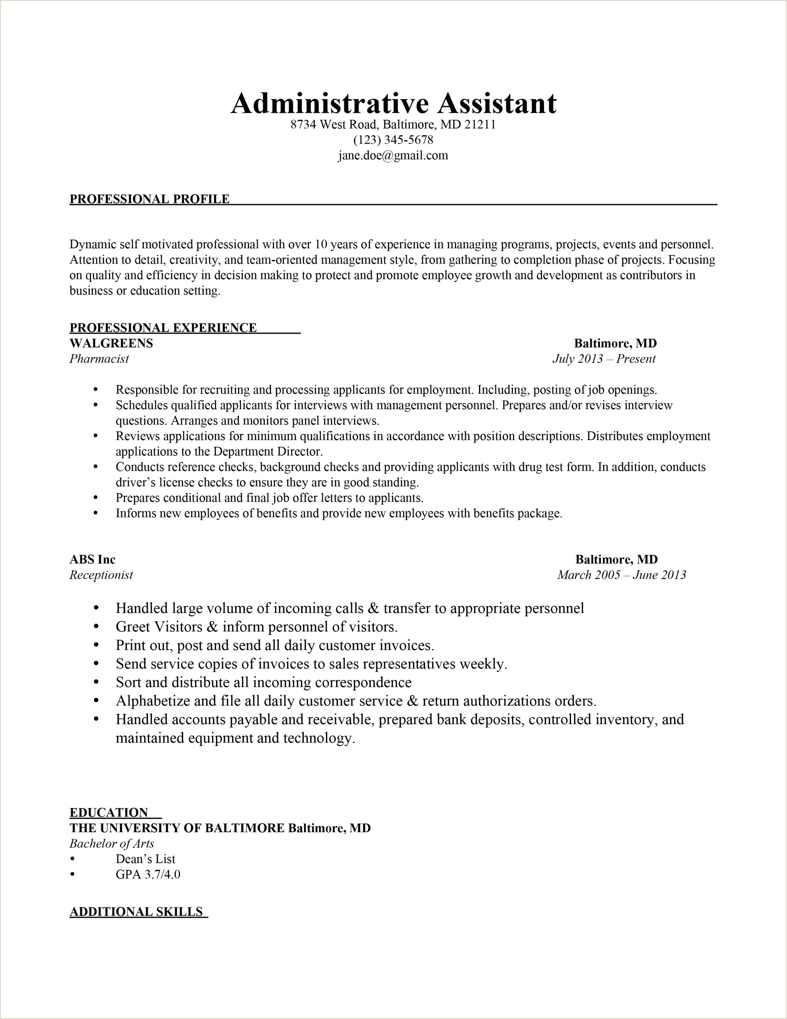 Cover Letter Exmaples Free Cover Letter for Interview Sample