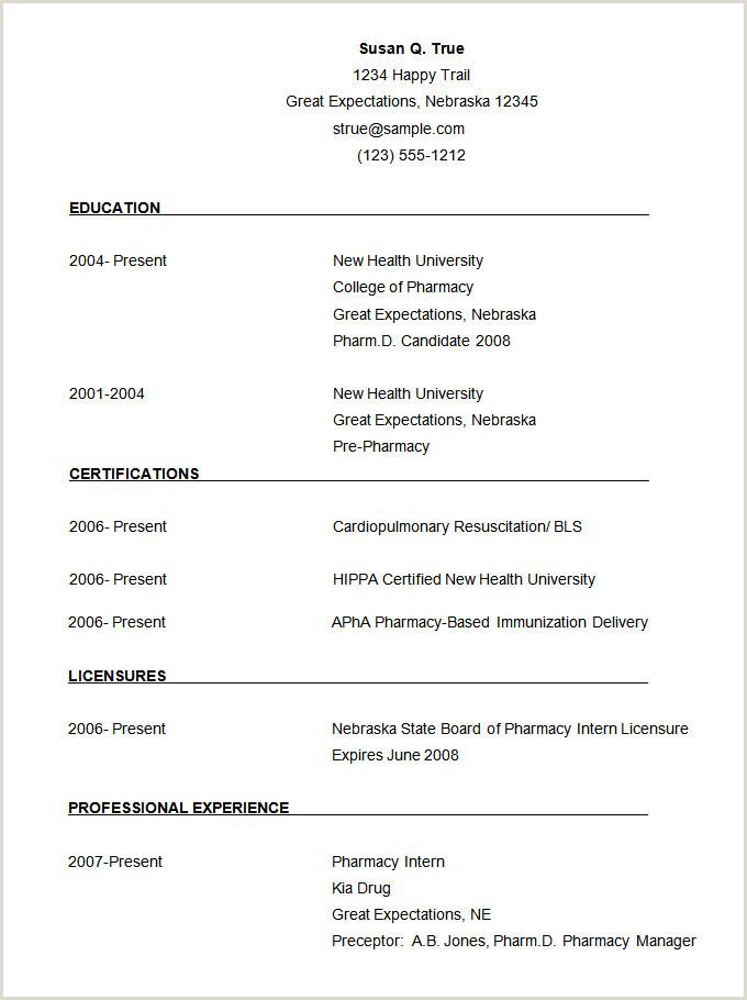 Pharmacist Curriculum Vitae Template 68 Cv Templates Pdf Doc Psd Ai