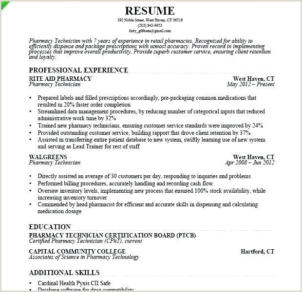 pharmacist resume template