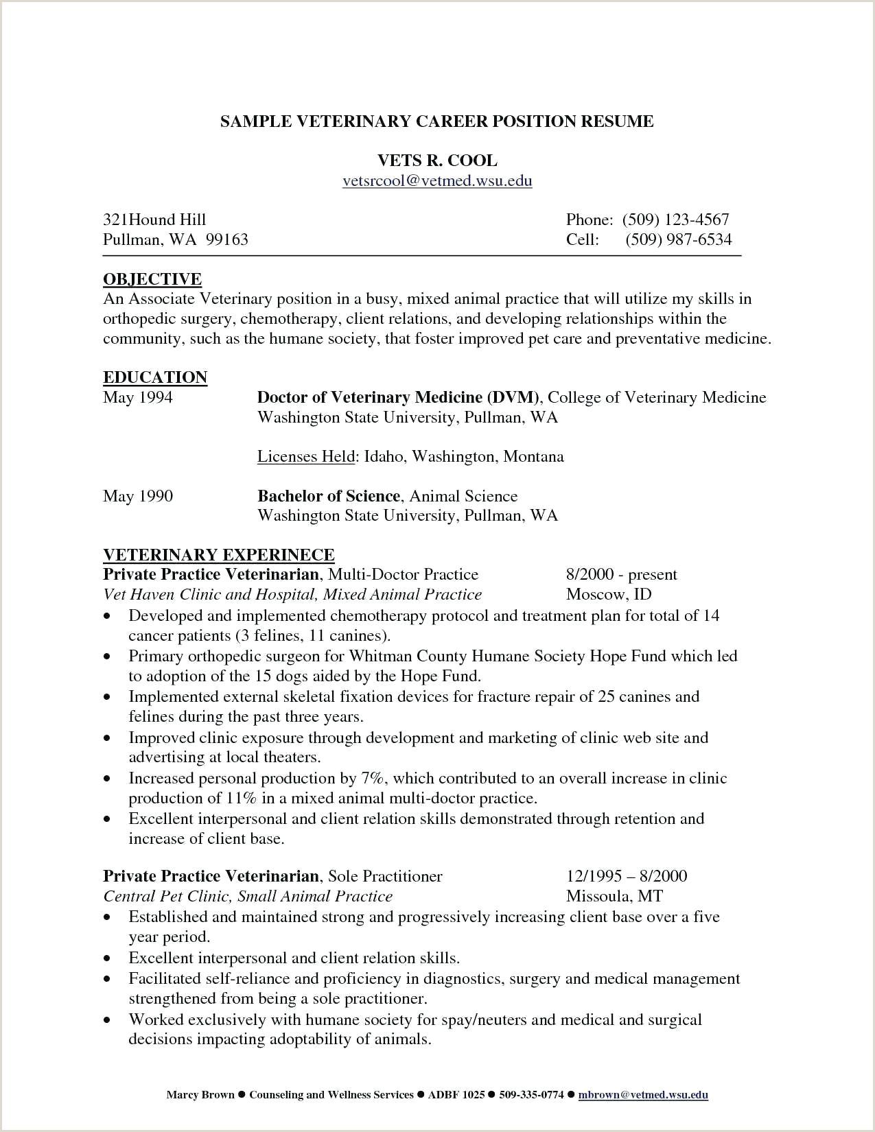 resume Pharmacist Resume Templates Free
