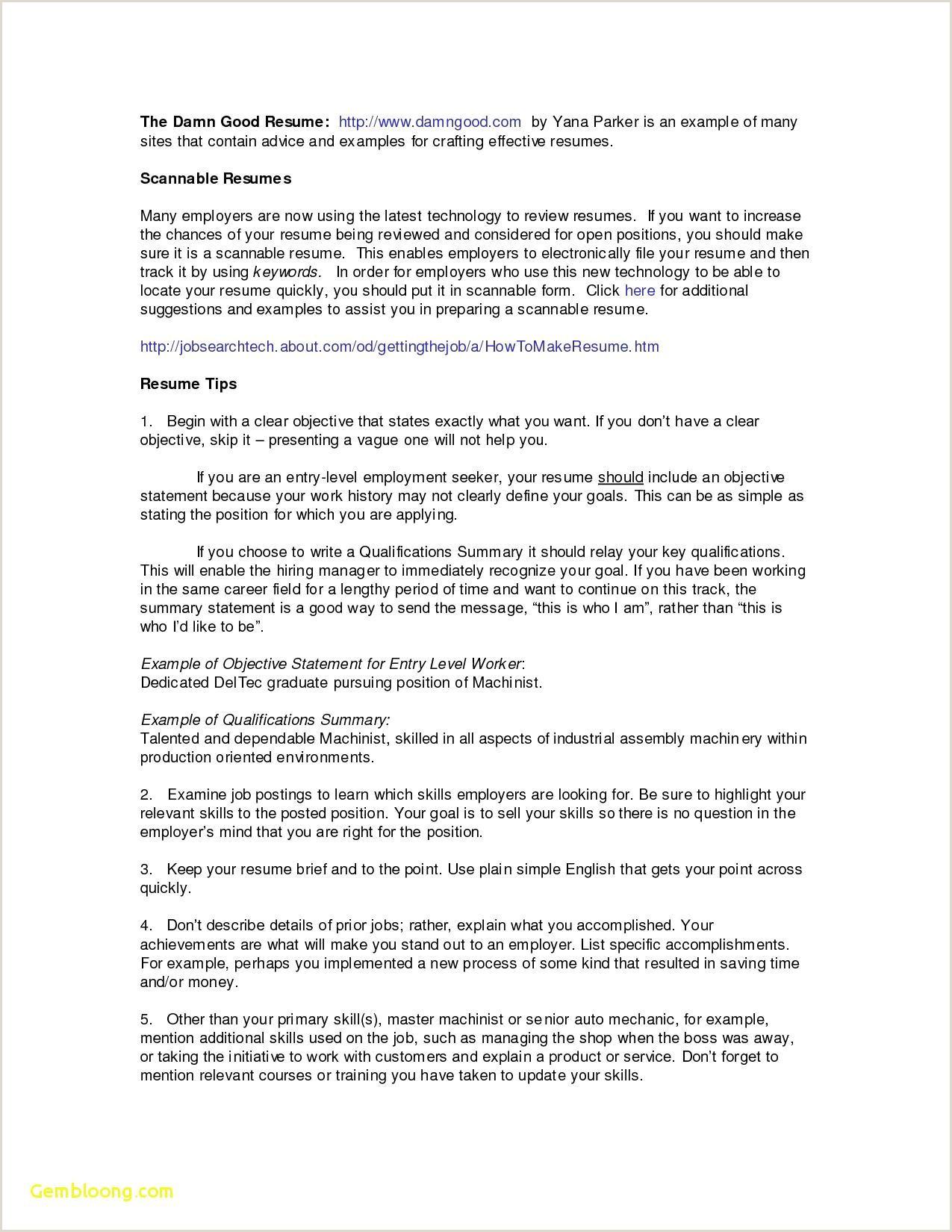 Pharmacist Resume Objective Unique Career Objective for Pharmacist – 50ger