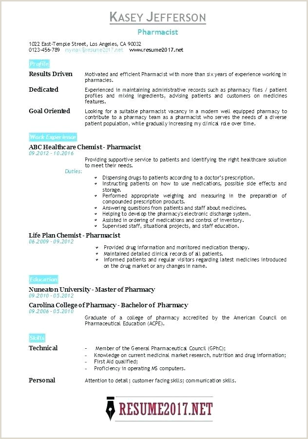 Pharmacist Resume Sample Pharmacy Template Doc Pharmacist Resume Sample Cv Word