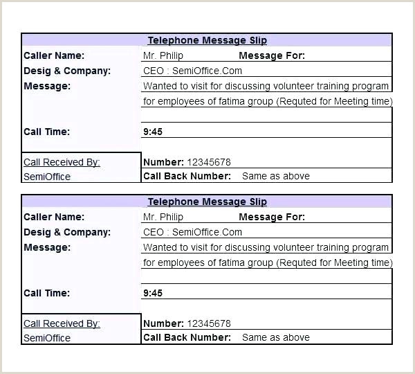 Free Phone Message Template 9 Templates For Word Excel