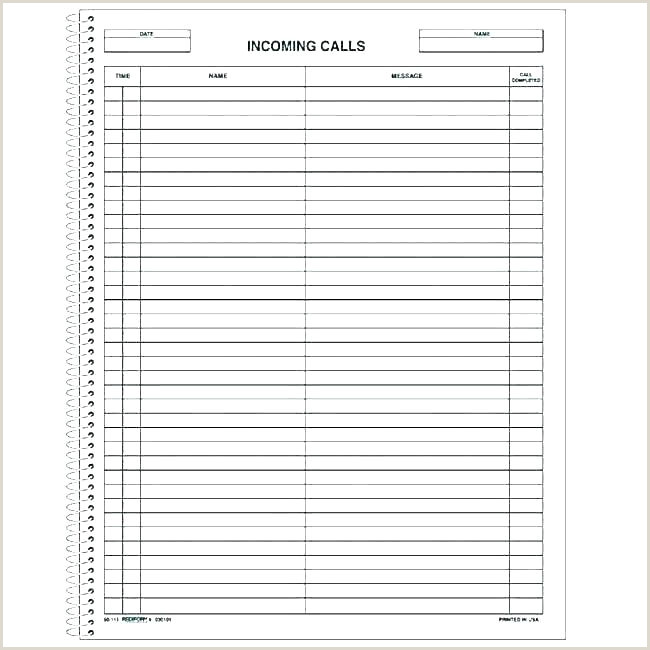 Phone Message Template Excel Telephone Log Template Printable Phone Free Munication