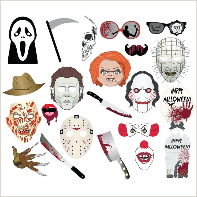 Photo Booth Props Templates Halloween Booth Props Printable Party City Walmart themed