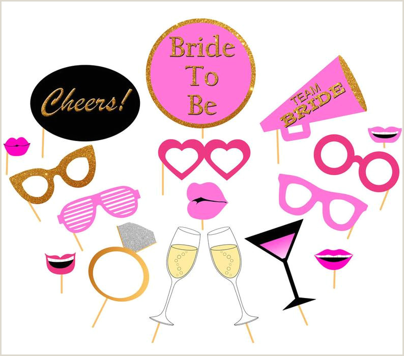 Photo Booth Props Templates Printable Bachelorette Booth Props Diy Printable Bridal Shower Booth Props Pink & Gold Hens Party Booth Prop Bride to Be