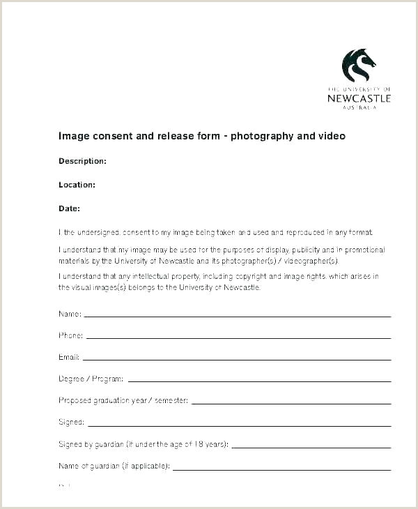 Photography Print Release Wording Photography Model Release Template