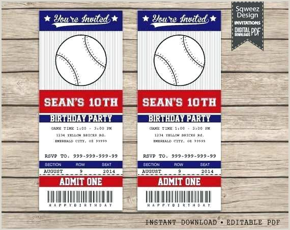Sports Ticket Template Free Download Top Result Invitation