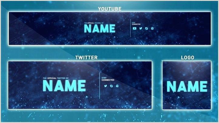 Template Banner Psd Blue Banner Header Website Design