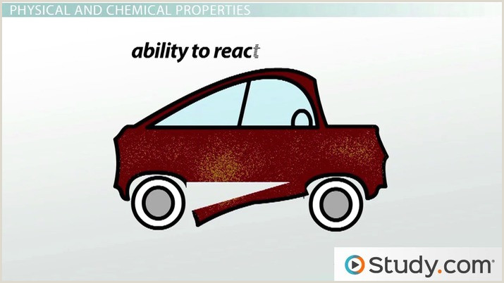 Matter Physical and Chemical Properties Video & Lesson