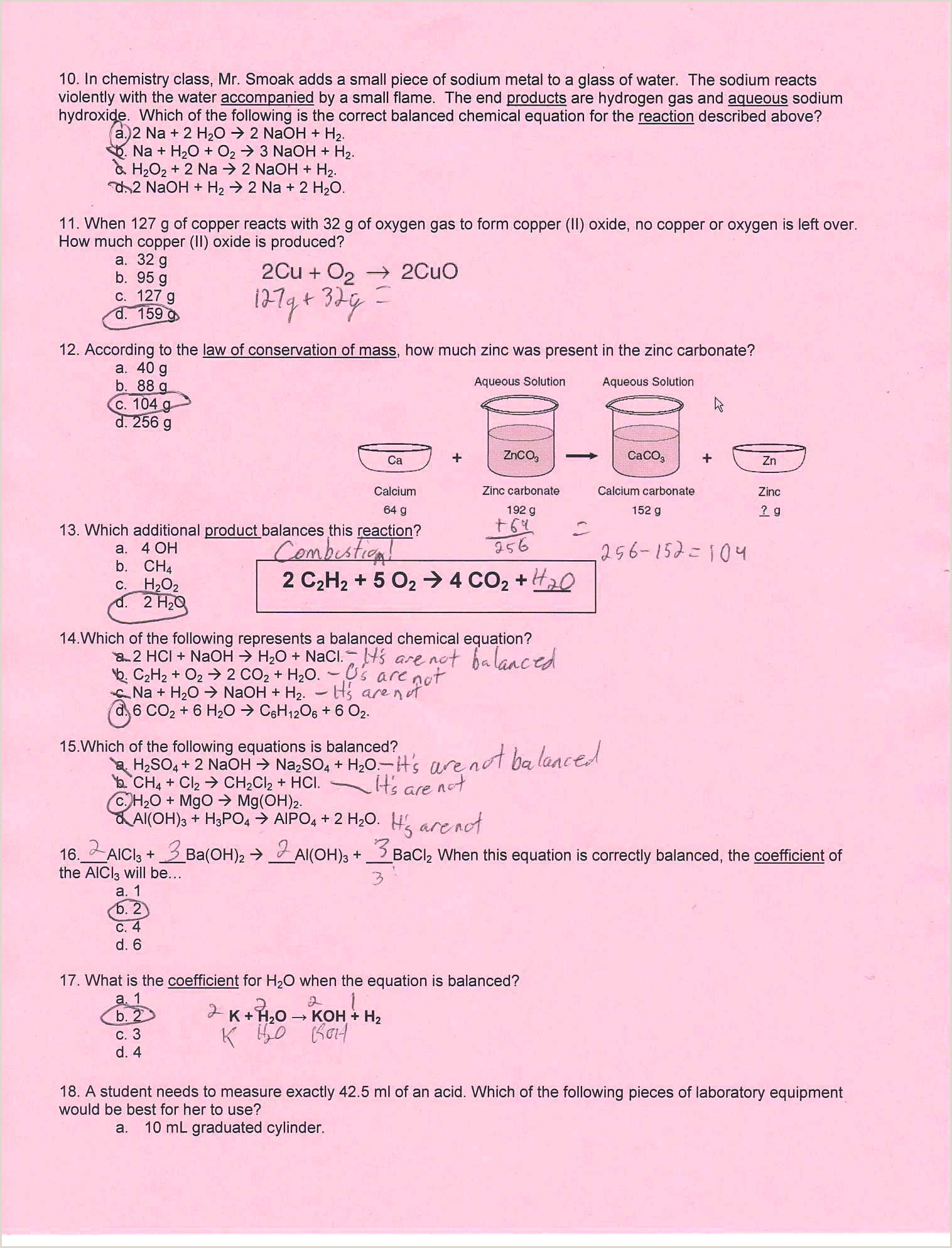 Physical Vs Chemical Properties Worksheet Physical Vs