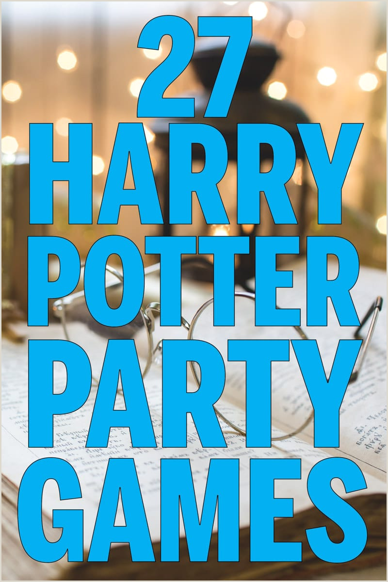 Pin the Tail On the Donkey Template 27 Magical Harry Potter Games for Muggles Of All Ages Play