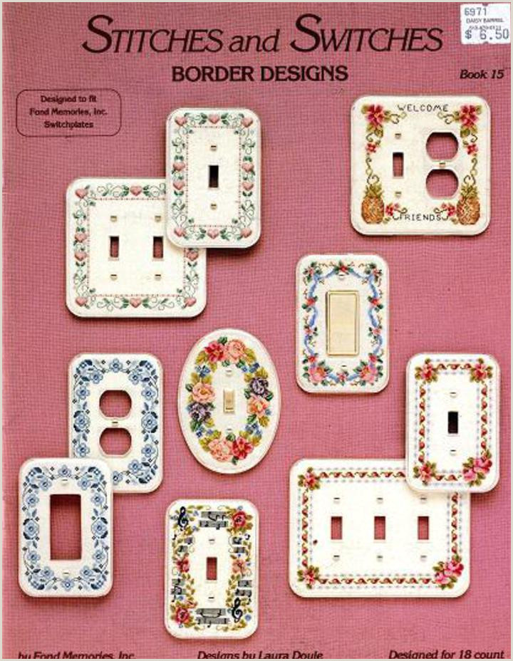 Stitches and Switches Border Designs by Fond Memories Book 15 Counted Cross Stitch Booklet Floral Music Notes Pineapple Hearts