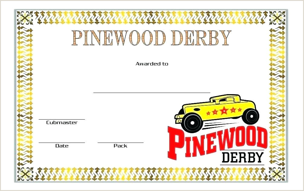 Pinewood Derby Flyer Template Boy Scouts Templates Free Car