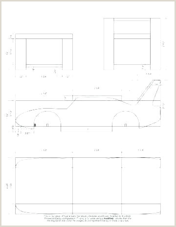 Pinewood Derby Templates Blank Pinewood Derby Blank Template