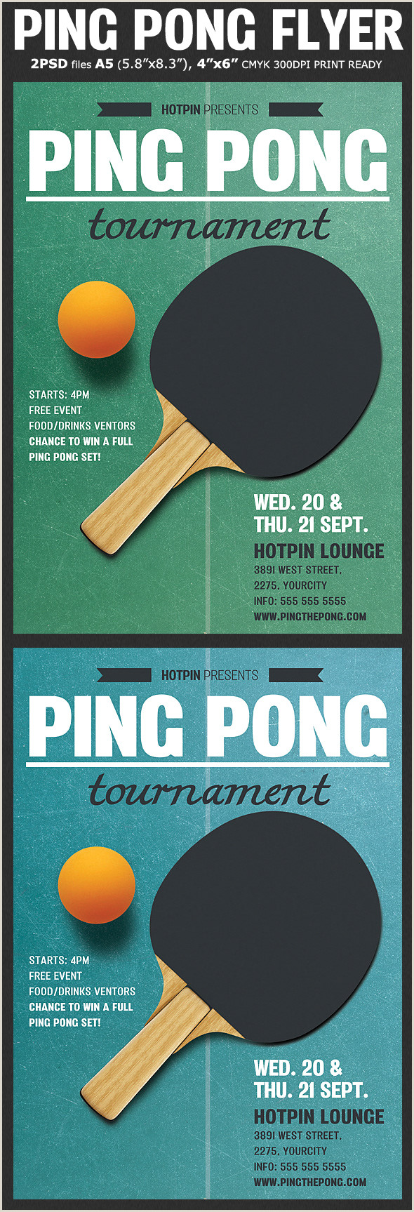 Ping Pong tournament Flyer Template Hotpin Templates Ping Pong Flyer Template