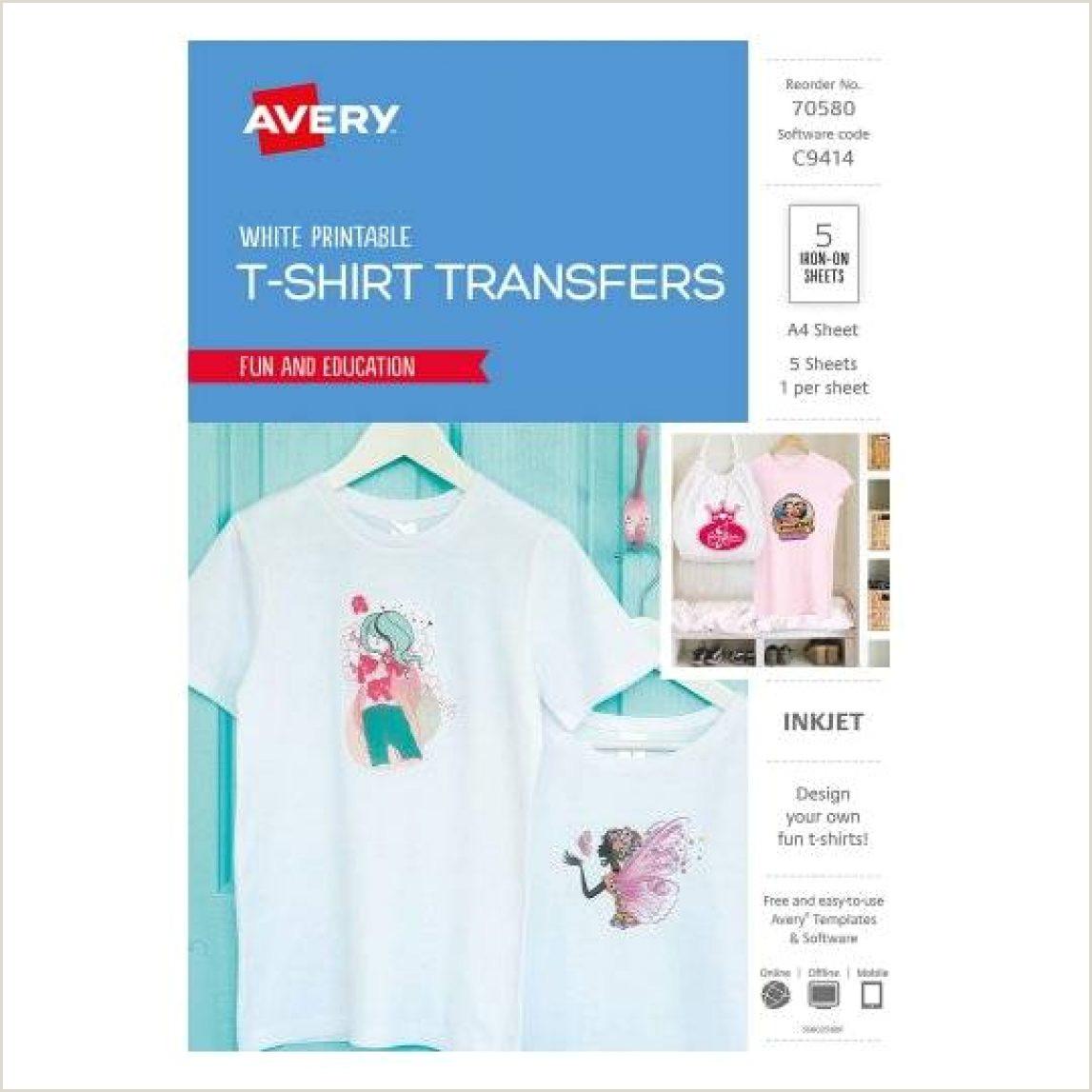Pink T Shirt Template 10 Avery T Shirt Transfer Template