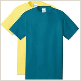 Port & pany Core Cotton T shirt