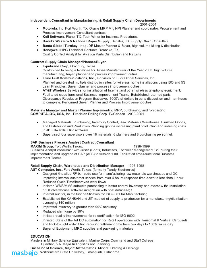Plain Text Resume Cv forme Génial Cv Mise En forme Plain Text Resume Example