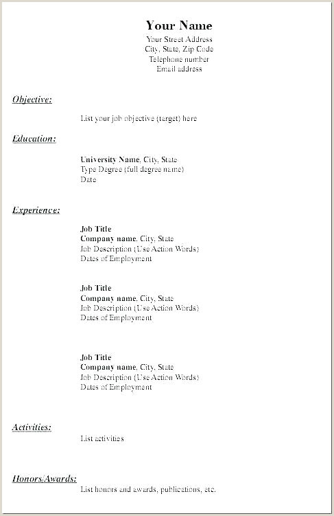 plain text resume – hotwiresite
