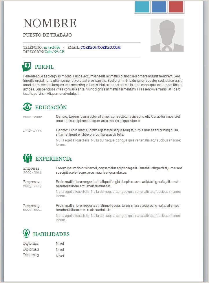 Plantillas Curriculum Vitae Para Rellenar En Word Modelo De Curriculum Vitae Nuevo Modelo De Curriculum Vitae