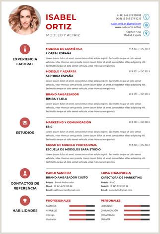 Plantillas Curriculum Vitae Para Rellenar Gratis Infojobs Modelo De Curriculum Vitae original Modelo De Curriculum