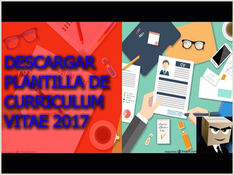 Plantillas De Curriculum Vitae Para Rellenar Con Foto Descargar Plantilla Modelo De Curriculum Vitae 2017 Gratis