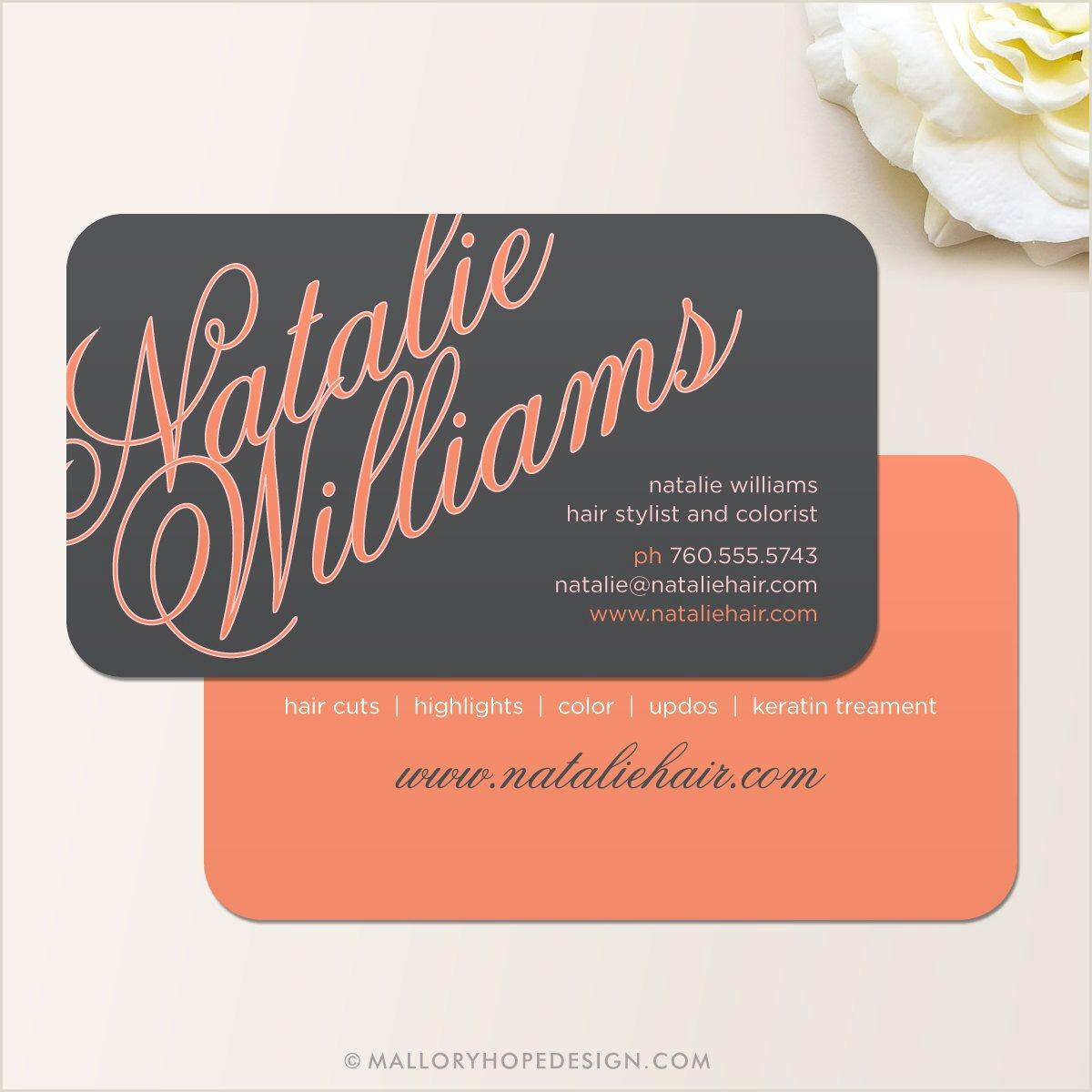 Hair Stylist Business Cards New 28 Hair Salon Business Cards