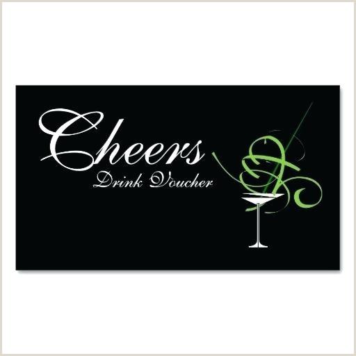 Wedding Drink Voucher Business Card Template Recipe – opusv