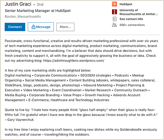 Point Of Sale Experience Resume 7 Great Linkedin Summary Examples to Help You Craft Your Own