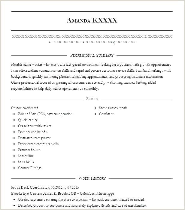 Skills Resume Sample – Admin Linda