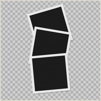 frames on the transparent background vector Vector