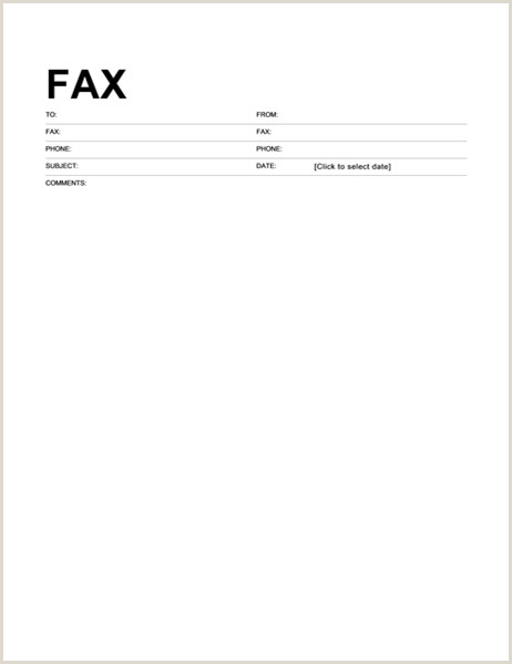 Police Chief Cover Letter Fax Cover Sheet Standard format