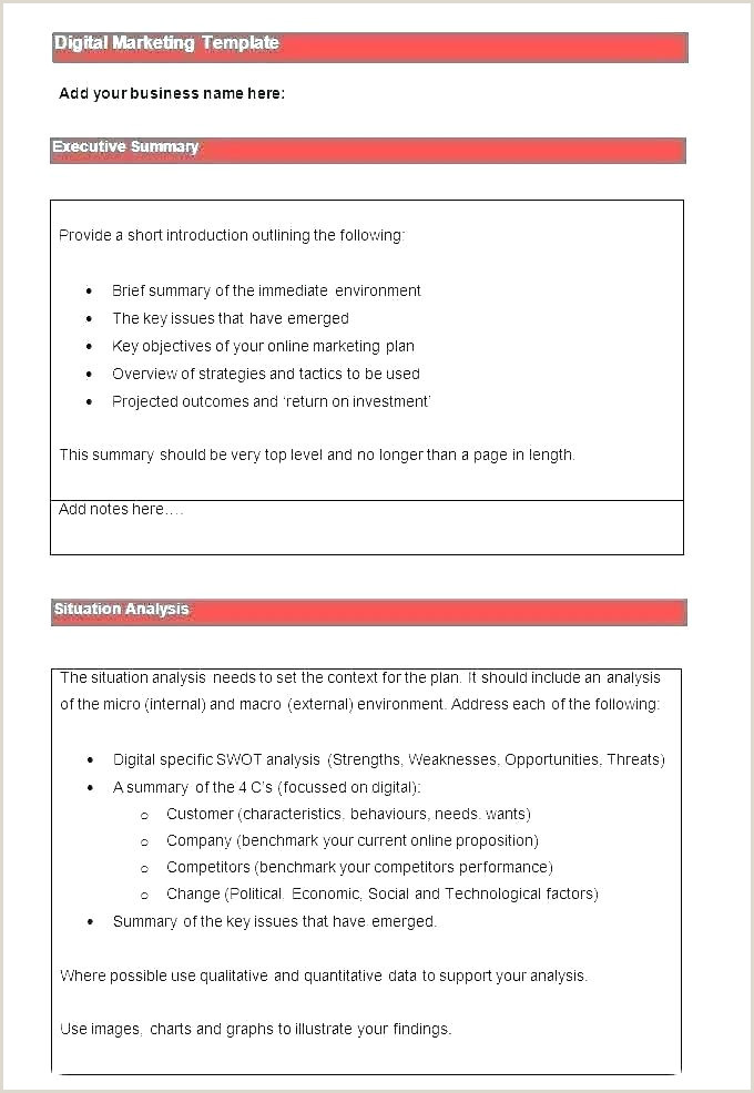 campaign plan template excel