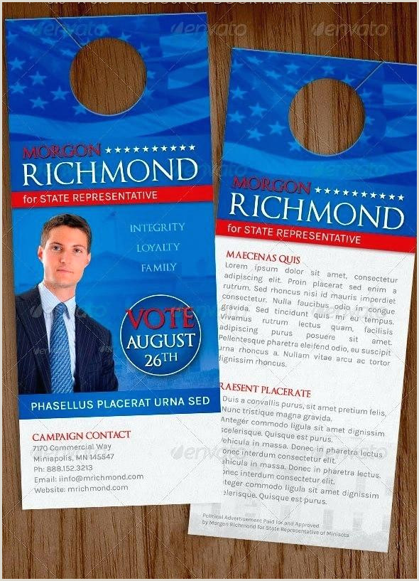 Political Door Hangers Templates Below is A Both and Door Hangers Campaign