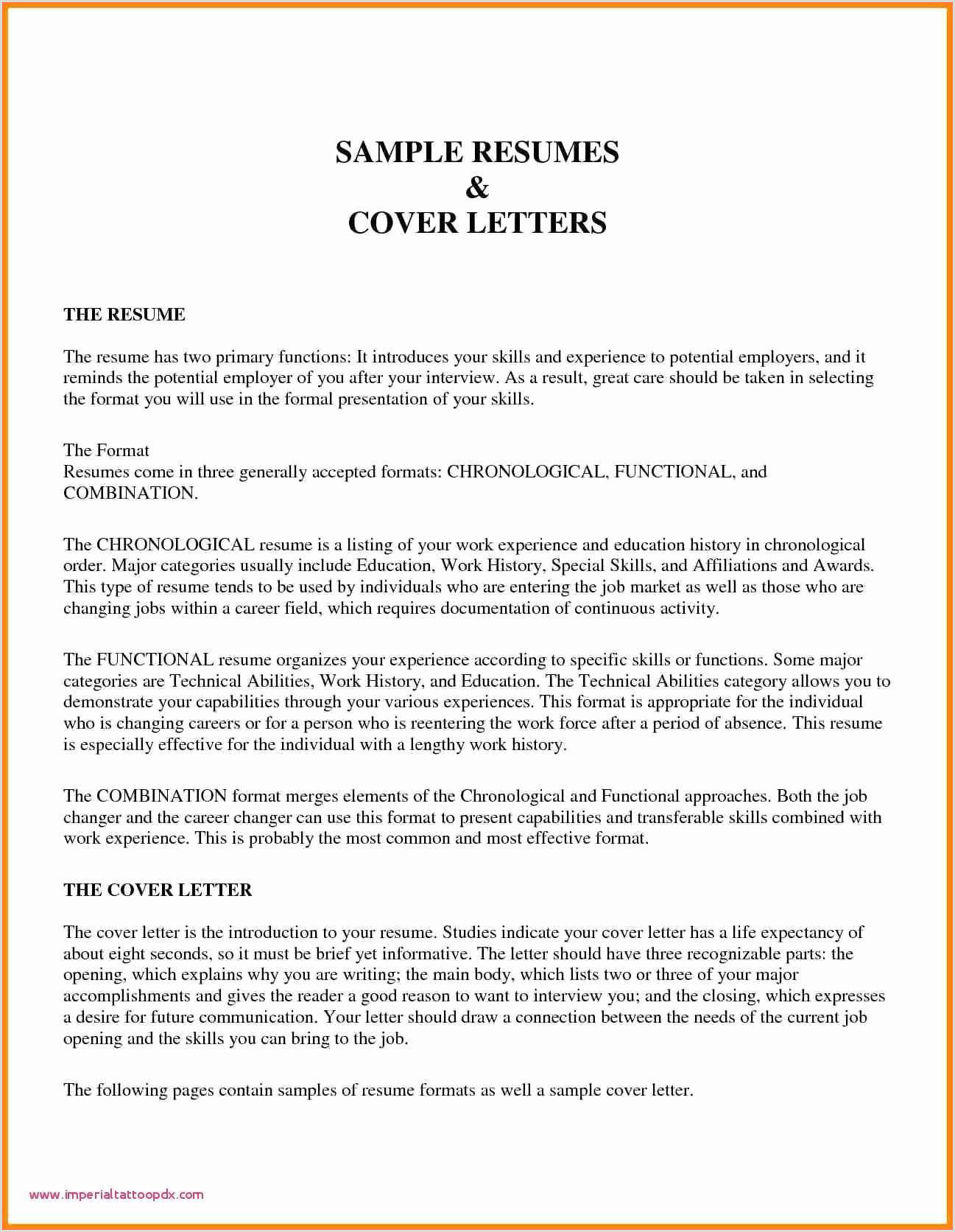 Inspirational Sample Resume Templates – 50ger