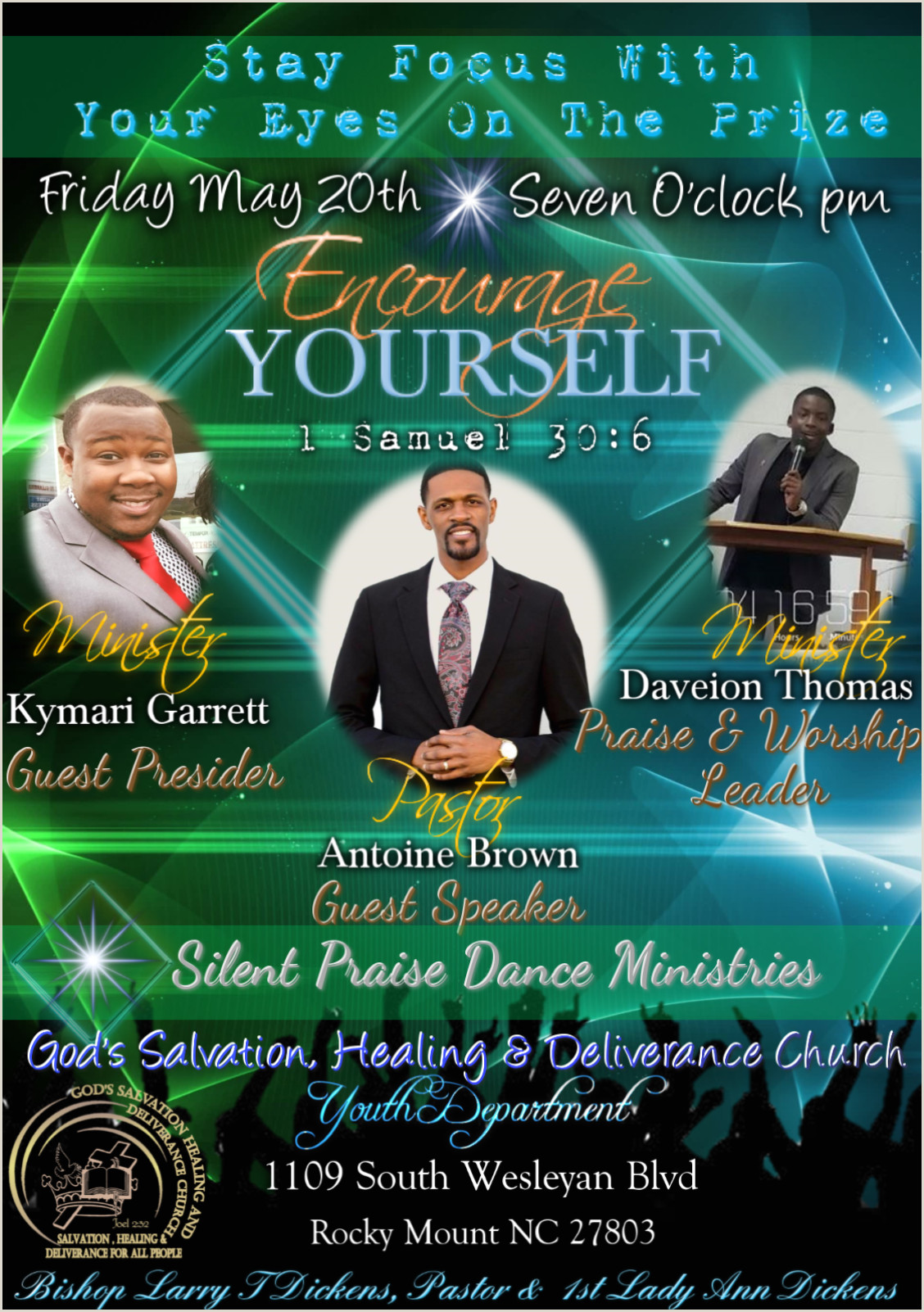 Praise and Worship Flyers event Flyers