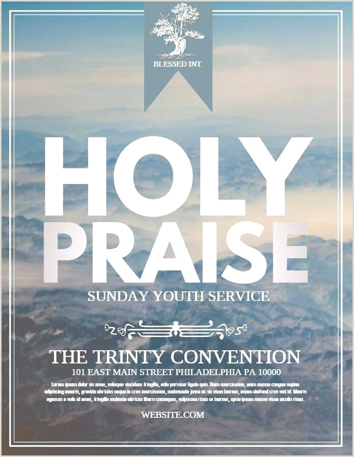 Free Printable Church Event Flyer Templates – lilyvalley