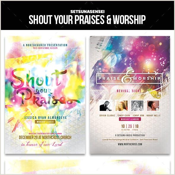 Heartfelt Worship Graphics Designs & Templates