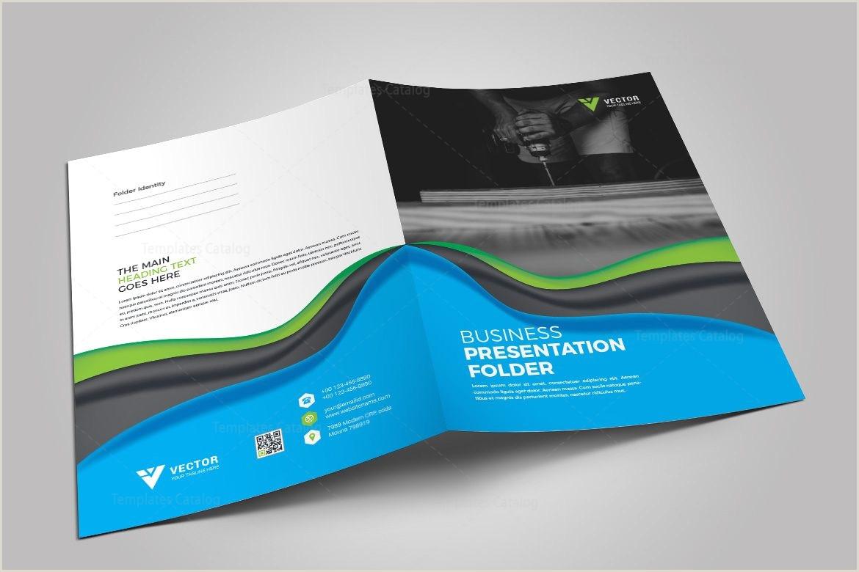 Presentation Folder Template Illustrator Medical Presentation Folder Template