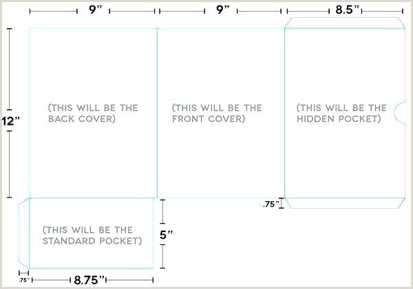 Presentation Folder Template Pocket Ai Lder Lovable