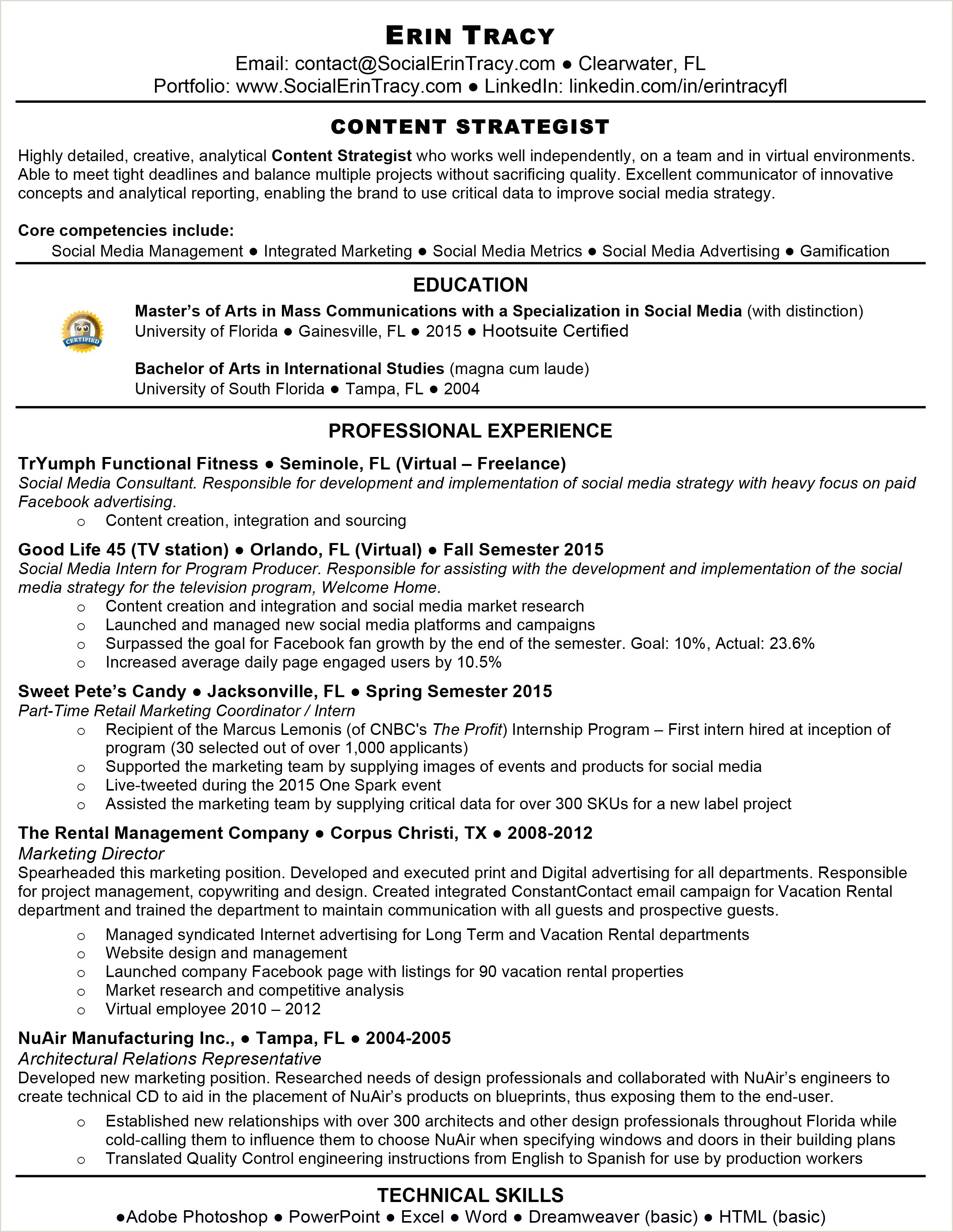 Princeton Resume Template Cover Letter social Media Intern New Size Resume